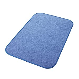 西川 リビング 調湿シート ブルー 60×90cm からっと寝 シリカゲル入り 1572-00007