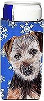 Norfolk Terrier Puppy Winter Snowflakes Ultra Beverage Insulators forスリム缶sc9783muk
