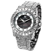 [ジェ・ハリソン] 腕時計 JH-025SB 正規輸入品 シルバー