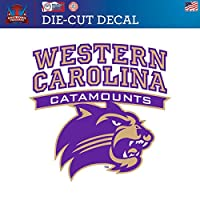 Western Carolina University Catamounts WCUダイカットビニールデカールロゴ1