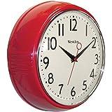 Westclox 32042R Retro 1950 Kitchen Wall Clock, 9.5-Inch by Westclox [並行輸入品]