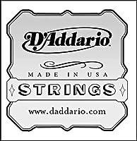 D'Addario J5403 Aluminum Wound Tenor Ukulele Single String Third String .036 [並行輸入品]