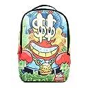 【B668】 スプレーグラウンド SPRAY GROUND バックパック バック バッグ リュック 通勤 通学 SpongeBob スポンジボブ 限定コラボ 正規品 (01) カー二 Fサイズ