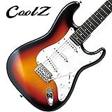 CoolZ ZST-V/R 3TS(3トーンサンバースト) エレキギター (クールZ) Vシリーズ