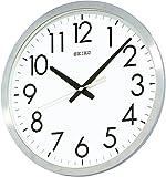 SEIKO CLOCK (セイコークロック) 掛け時計 アナログ オフィスタイプ 金属枠 KH409S