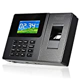 Realand 指紋の出席マシン 指紋認証 タイムレコーダー 出退勤記録機  勤怠管理 会社/オフィス管理 Realand Biometric Fingerprint FP&ID RFID Card Time Attendance Clock USB CLIENT TCP/IP