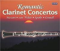 ロマンティック・クラリネット(3枚組)/Romantic Clarinet Concertos