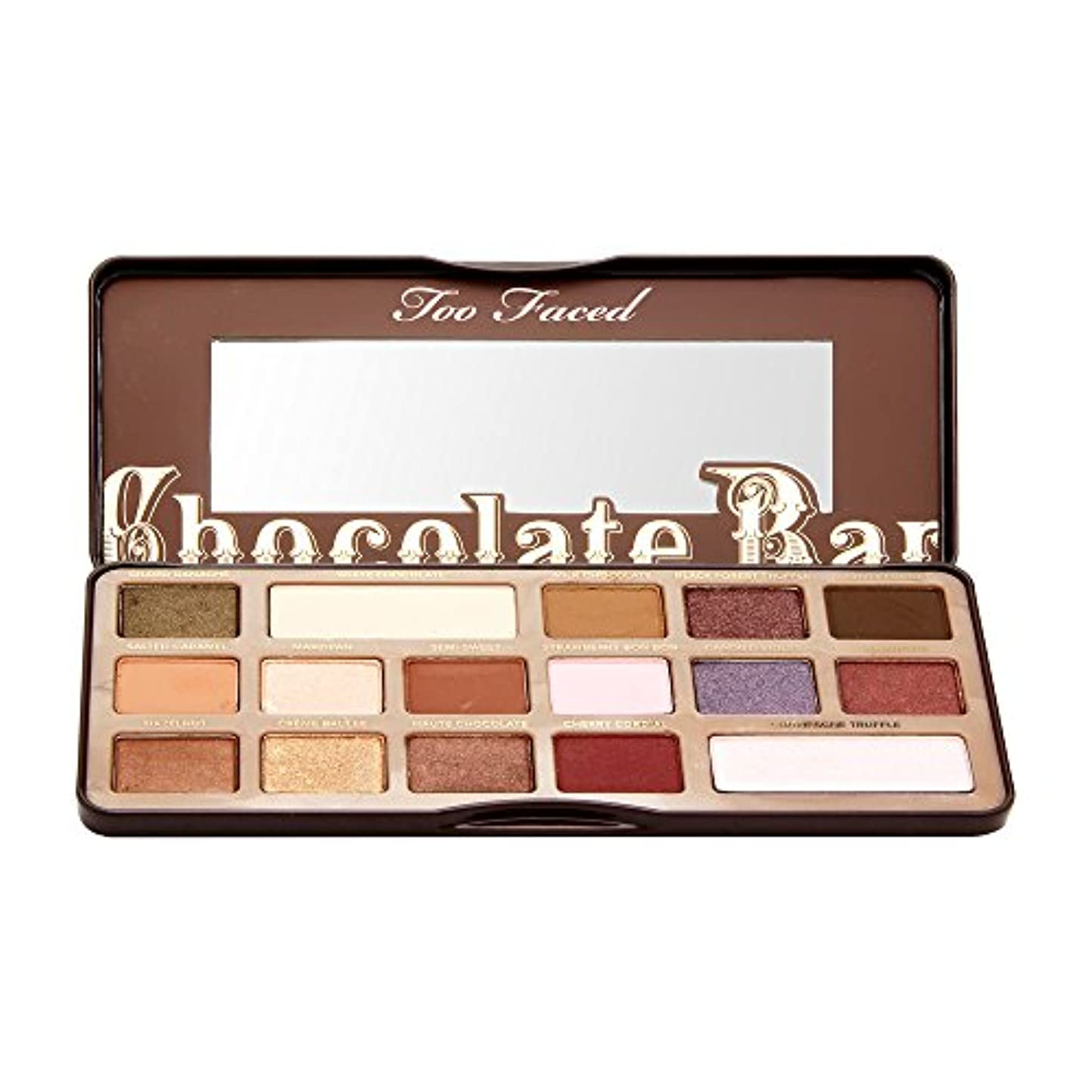 バリア横危険Too Faced Chocolate Bar Eye Shadow Collection (並行輸入品)
