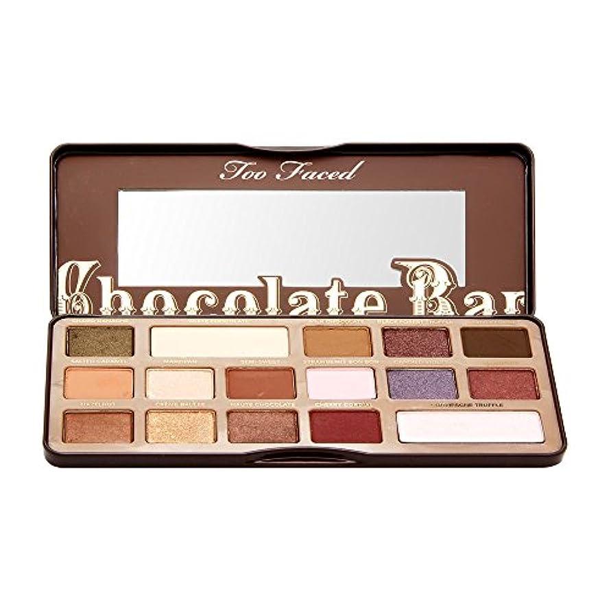 貸す検出器鉄Too Faced Chocolate Bar Eye Shadow Collection (並行輸入品)