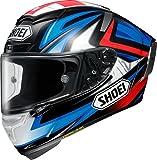 ショウエイ(SHOEI) バイクヘルメット フルフェイス X-Fourteen  BRADLEY3 (ブラッドリー3) TC-1 RED/BLACK S (55cm~56cm) -