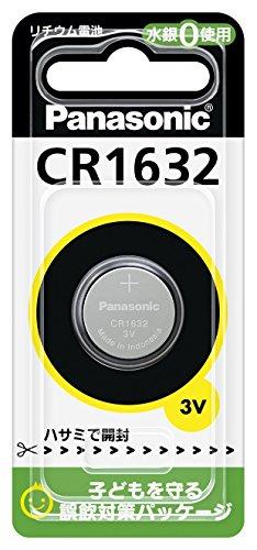 パナソニック リチウム電池 コイン形 3V 1個入 CR-1632