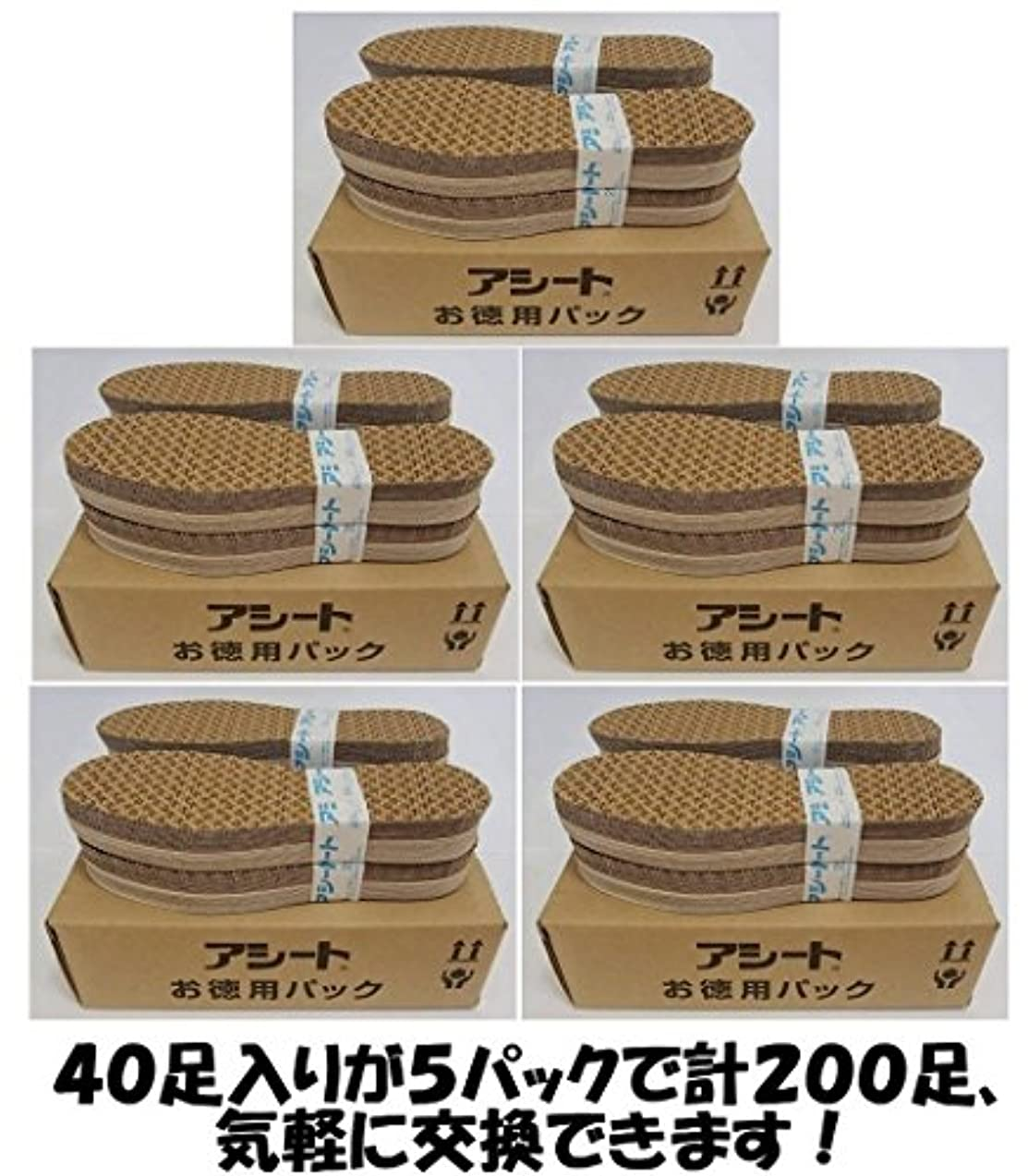 接地不健全電気技師アシートOタイプお徳用パック200足入り (23.5~24cm 女性靴用)