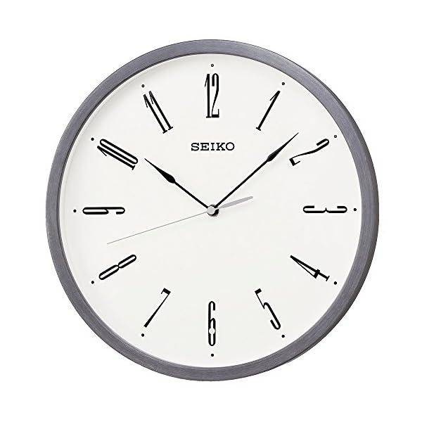 セイコー クロック 掛け時計 電波 アナログの商品画像