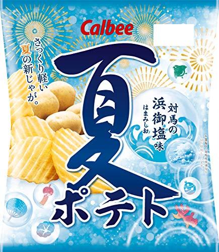 カルビー 夏ポテト 対馬の浜御塩味 65g ×12袋