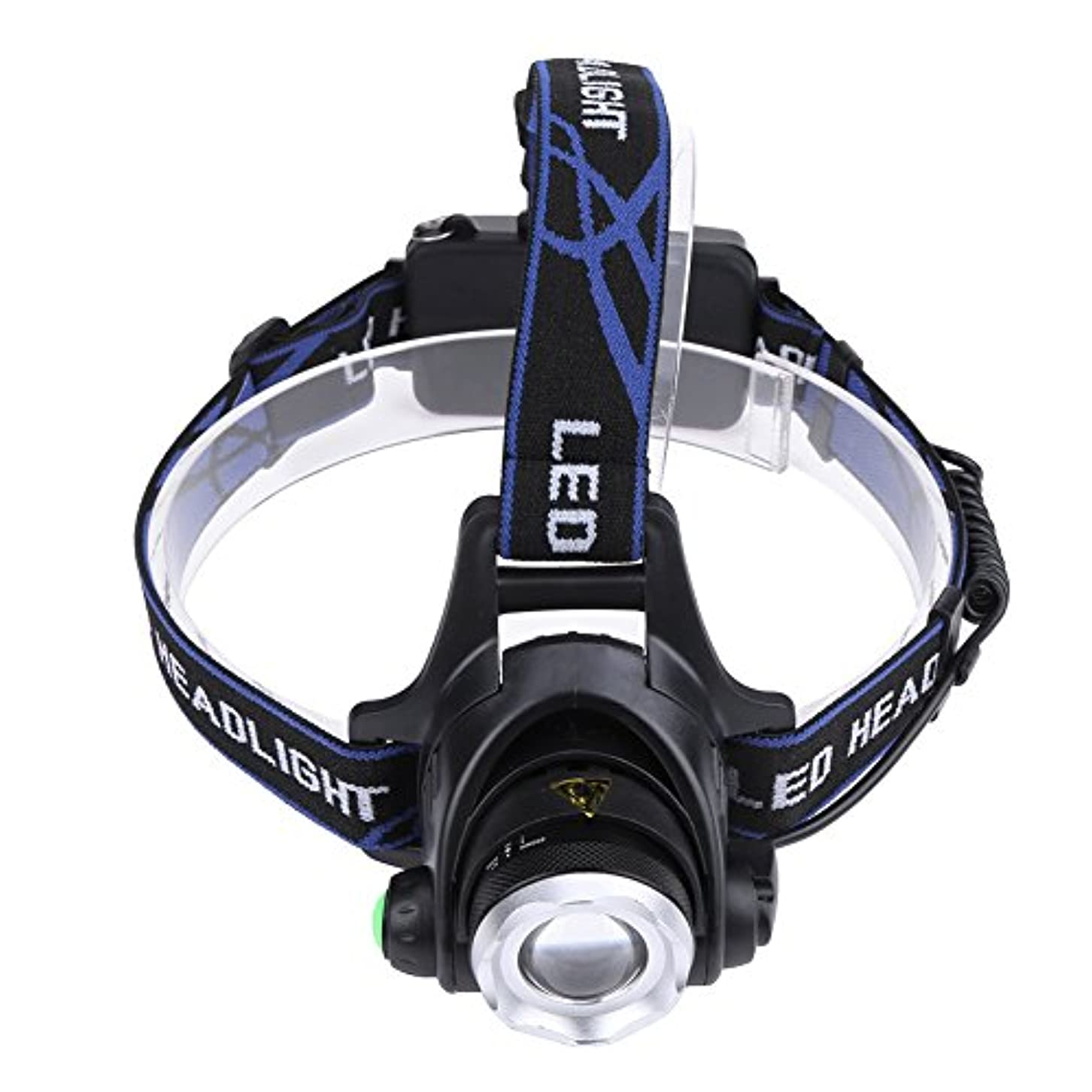 砂漠豆腐成功したヘッドライト ヘッドランプ  LED ヘッドライト フラッシュライト  LED懐中電灯 生活防水 ハイキング/夜釣り/作業/自転車/キャンプに最適 SIKIWIND (#2)