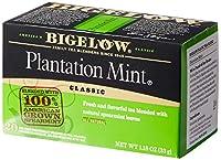 Bigelow Tea プランテーションミント紅茶 - 20ティーバッグ