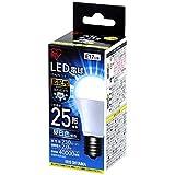 アイリスオーヤマ LED電球 口金直径17mm 25W形相当 昼白色 広配光タイプ 密閉器具対応 LDA2N-G-E17-2T4