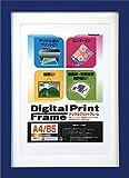 NAKABAYASHI デジタルプリントフレーム A4判/B5判 ブルー フ-DPW-A4-B