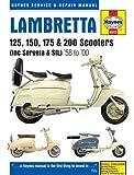「ランブレッタ スクーター (1958-00)」ヘインズ サービスマニュアル