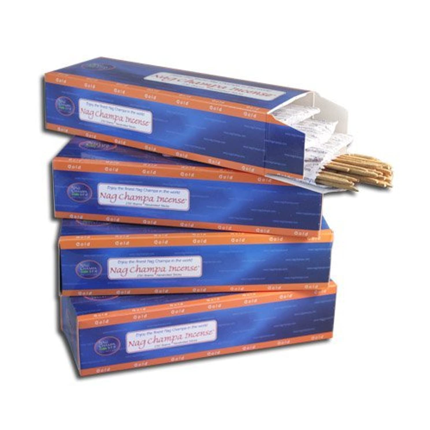六落胆する銀Nag ChampaゴールドIncense sticks-バルクKilo pack- 1000 Sticks