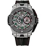 【ウブロ】 HUBLOT 腕時計 ビッグバンフェラーリ チタニウムカーボン シルバー 401.NQ.0123.VR メンズ 【並行輸入品】