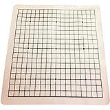 碁盤 19路 ポータブル レザーレット 碁 盤 囲碁盤 大盤 45×49cm コンパクト収納