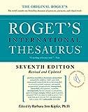 Roget's International Thesaurus, 7e, Thumb indexed (Roget's International Thesaurus Indexed Edition)