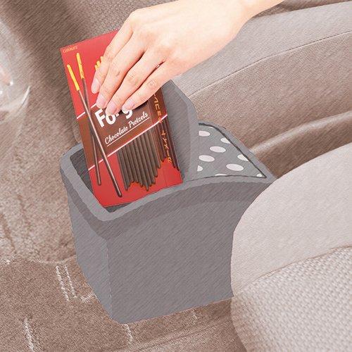 カーメイト おもり付きゴミ箱 FOR GIRLS DZ297 ブラック