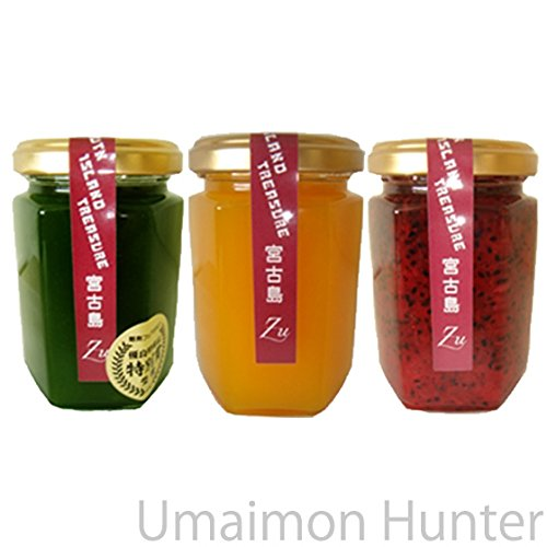 沖縄宮古島の素材を活かしたジャム 3種セット 50g×3点(マンゴー・ドラゴンフルーツ・ゴーヤー) 南国食楽Zu デザートソースや料理の隠し味に使えるコンフィチュール
