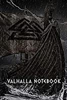 VALHALLA NOTEBOOK: Notebook 120 Pages squared Interior great for Notes, Sketches etc..