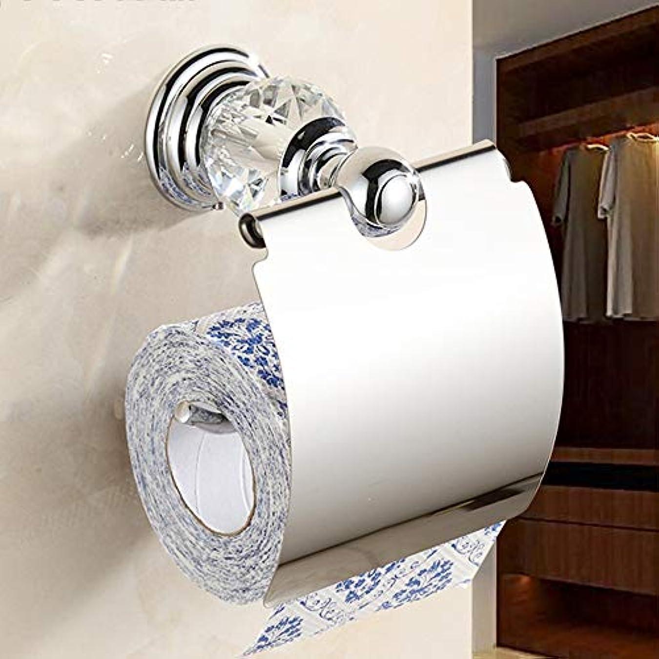 活気づける忘れられない素敵なZZLX 紙タオルホルダー、ヨーロッパの金ステンレススチールアンティークバスルームロールトレイトイレットティッシュボックス ロングハンドル風呂ブラシ (色 : A)