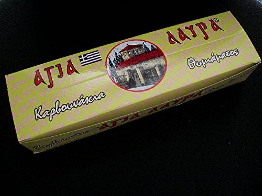 根絶する愚か選ぶボックスのギリシャチャコールタブレット24のロール6タブレット各Roll for教会IncenseまたはHookahおよびShishaパイプ