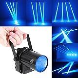 OriGlam 3W 青いスポットライト ledの光ビームpinspotステージライト djボールライト ktvバー・クラブ党照明のために