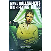 Noel Gallagher – Noel Gallagher 's High Flying Birds – Rare両面広告ポスター11 x 17