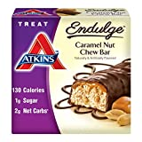 海外直送品 Atkins Endulge Bar Caramel Nut Chew, Caramel nut chew 5 Pack