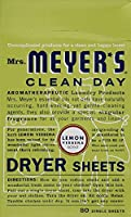 Mrs. Meyer's Clean Day Dryer Sheets - Lemon Verbena - 80 ct - 2 pk by Mrs. Meyer's Clean Day