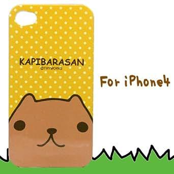 カピバラさん iPhone4ケース 黄色ドット