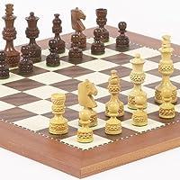Monte CarloデラックスChessmen & Astor Placeチェスボードfrom Spain