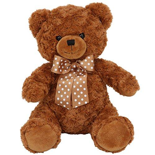 不二貿易 熊 ぬいぐるみ 座高30cm ブラウン 22577