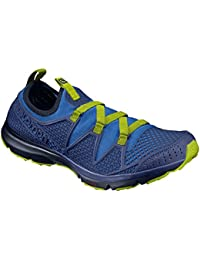 Salomon CROSSAMPHIBIAN MEN L39470600 [Nautical Blue/Blue Depths/Lime Punch] 27.0cm サンダル&ウォーターシューズ サロモン