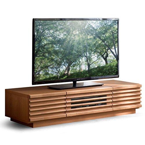 タンスのゲン テレビ台 完成品 アルダー無垢材 テレビボード TV台 ローボード ロータイプ 幅120cm ナチュラル 38700007 NA