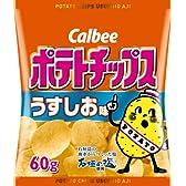 カルビー ポテトチップスうすしお味 60g×6袋