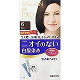ダリヤ サロン ド プロ 無香料ヘアカラー 早染めクリーム(白髪用) 6 ダークブラウン 40g+40g