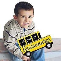 Kindergarten - First Day of School Bus Sign - Photo Prop
