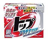 トップ 洗濯洗剤 粉末 プラチナクリア 0.9kg