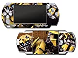 Transformers Bumblebee Camaro Autobots Toy Movie Video Game Vinyl Decal Skin Sticker Cover for Sony PSP Playstation Portable Original Fat 1000 Series System by Vinyl Skin Designs [並行輸入品]