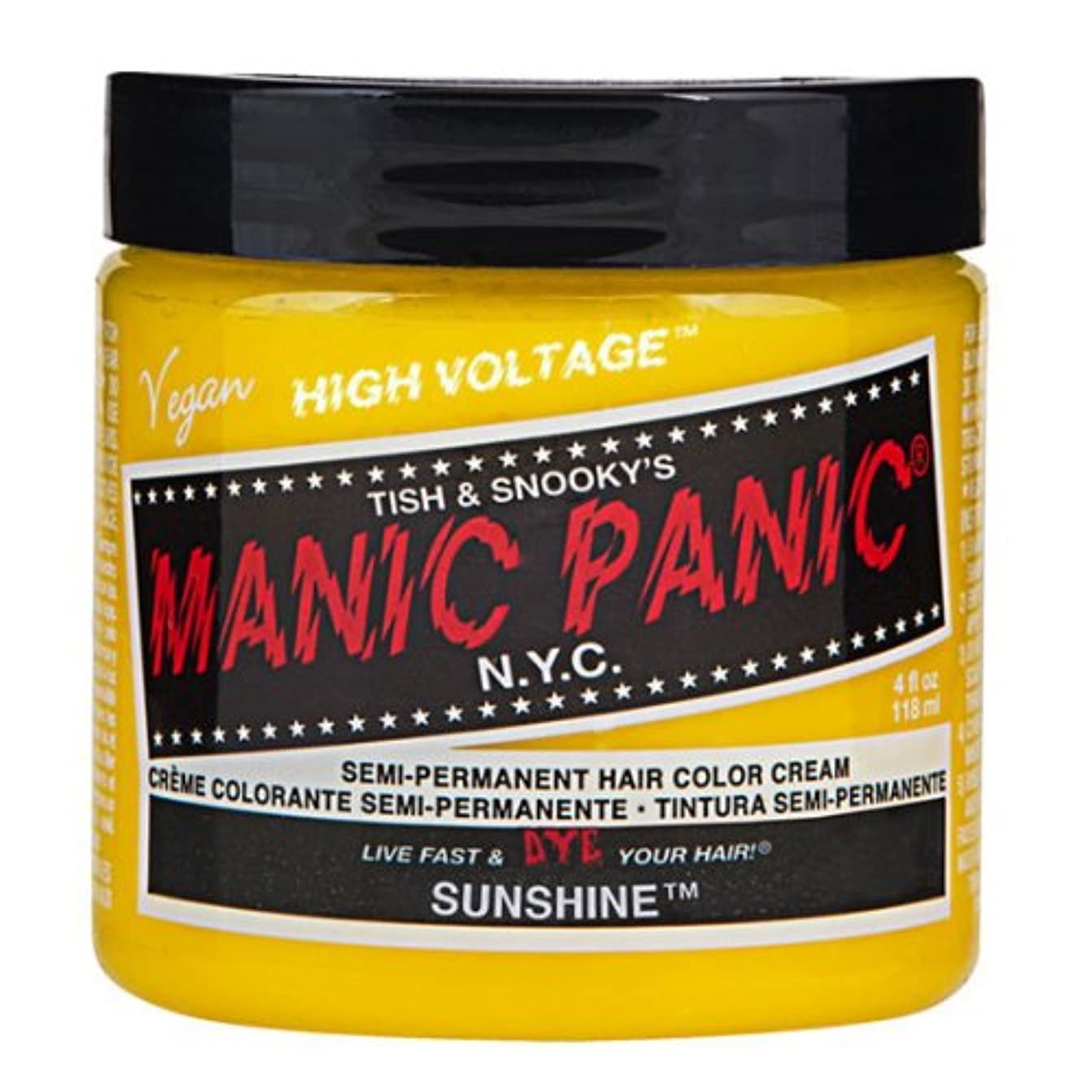 傷跡トーク傷跡マニックパニック カラークリーム サンシャイン