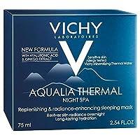 [Vichy ] ヴィシーAqualia温泉ナイトクリーム75ミリリットル - Vichy Aqualia Thermal Spa Night Cream 75ml [並行輸入品]