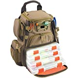 """Wild River WT3503 Tackle Tek Recon Lighted Backpack 4 Trays Orange, Sand 16"""" Lx 12"""" Wx 6"""" H"""