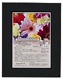 Amazon.co.jpChikuma フォトフレーム プルーラルマット L MX21+ブラック 15957-5